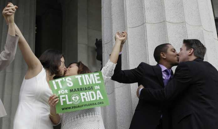 First Same-Sex Couple to Wed in Florida Celebrates 5th Anniversary of Marriage Equality in Florida