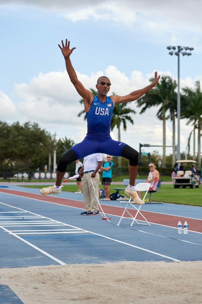 Hollywood's Brian Hankerson Repeats Victory in 28th Annual Florida Senior Games