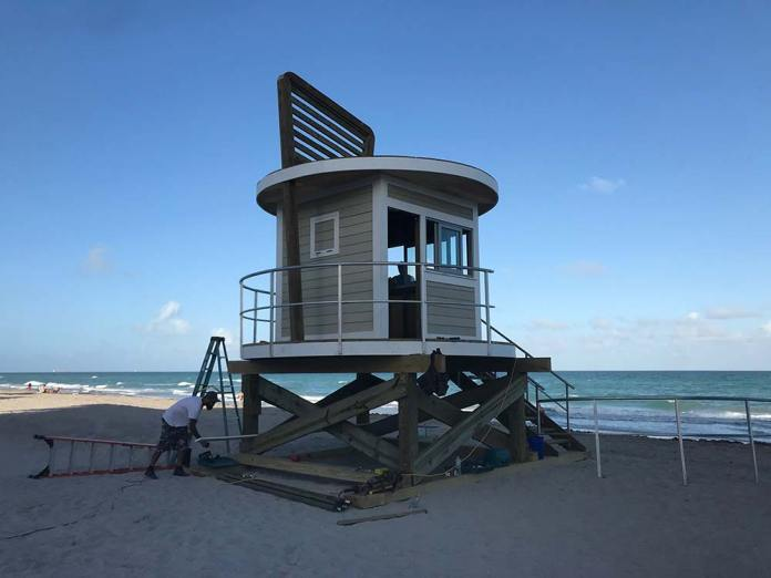 Hollywood Commission purchases new lifeguard towers and playground equipment
