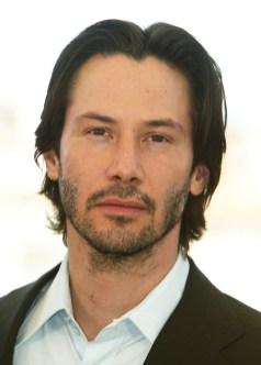 Keanu Reeves During The Matrix Reloaded Photocall