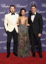 PALM SPRINGS, CA - JANUARY 02: Actors Joel Edgerton, Ruth Negga and filmmaker Jeff Nichols attend the 28th Annual Palm Springs International Film Festival Film Awards Gala at the Palm Springs Convention Center on January 2, 2017 in Palm Springs, California. (Photo by Frazer Harrison/Getty Images )