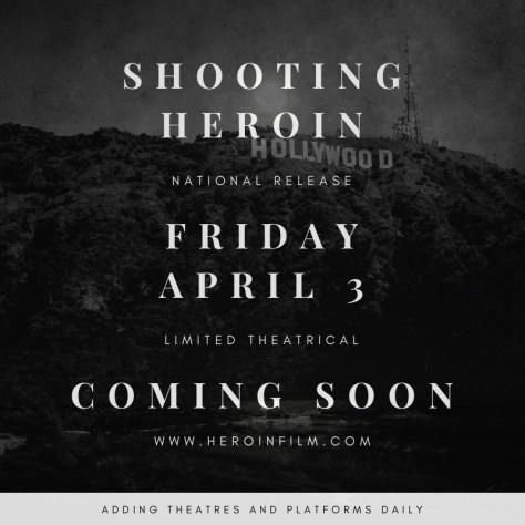 Shooting heroin release