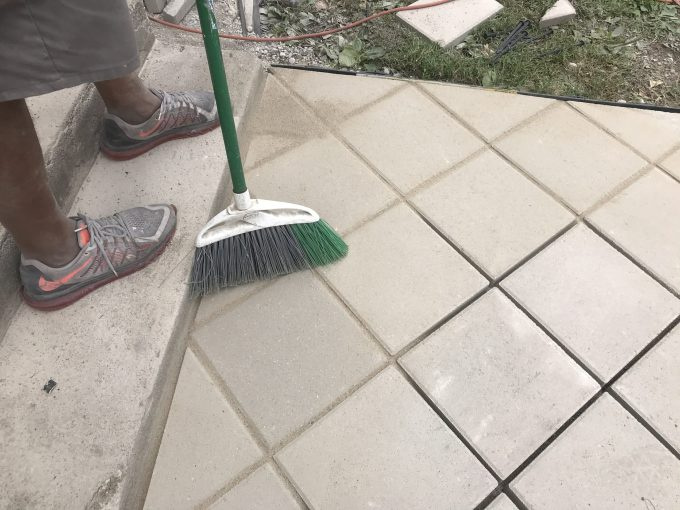 Between Patio Pavers, Stone Dust vs Sand