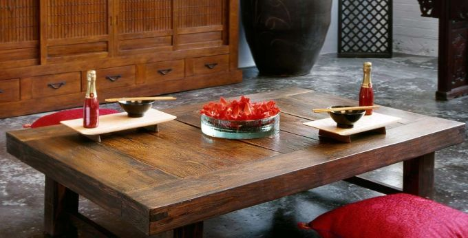 Japanese Living Room Table