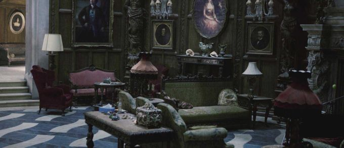 Medieval Gothic Living Room