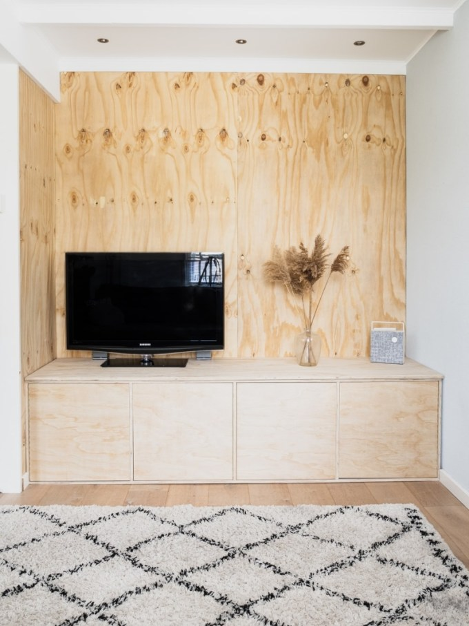 Wall-to-Wall TV Stand