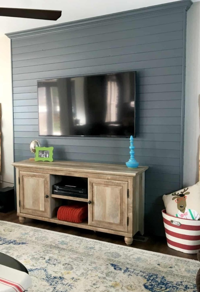 Stripped TV Stand