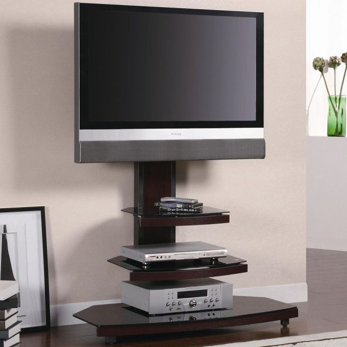 Layered Small TV Stand