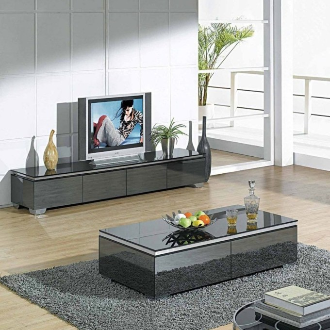 Small TV Stand with Luxurious Design