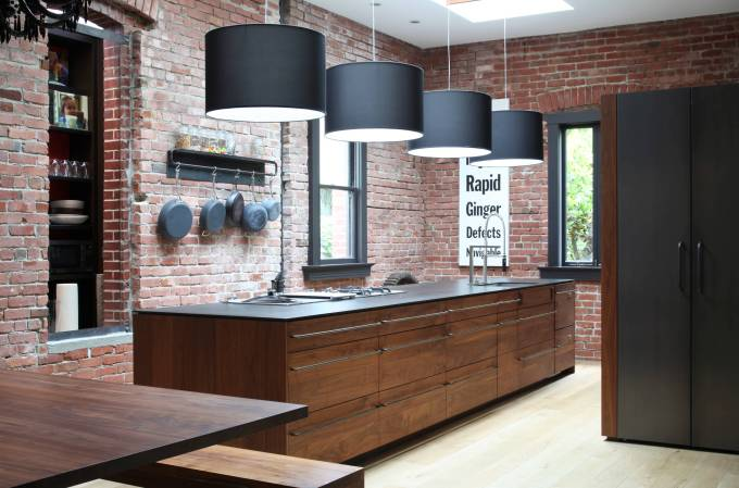 Apply additional coating to Walnut Kitchen Cabinets