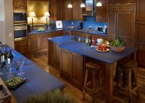 35 Stunning Blue Kitchen Island Designs to Apply Right Now