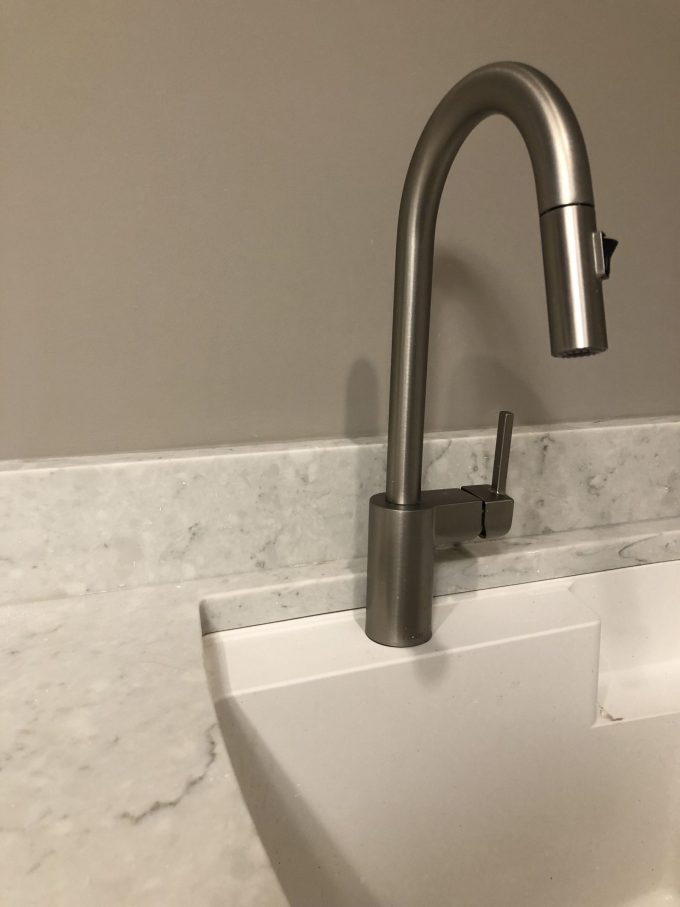 The Steps of Assembling the Faucet