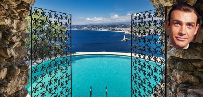 BINNENKIJKEN – Doodzieke 007 SEAN CONNERY (89) verkoopt voor 30 miljoen euro zijn favoriete villa aan de Côte d'Azur