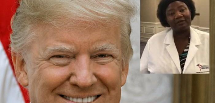 GEKKIE? Amerika's president Donald Trump volgt advies Nigeriaanse dokter over wondermiddel tegen corona