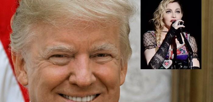 Donald Trump noemt Madonna 'één van de lelijkste en dikste slonzen' als ze geen date met hem wil…