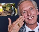 Martien Meiland laat Boulevard-verslaggever bij zijn nieuwe huis uren in brandende zon staan: 'Geen zin in jou!'