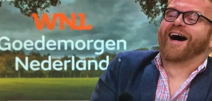 Zie fragment en oordeel zelf – Prominent VVD'er Frits Huffnagel stomdronken aan tafel bij Goedemorgen Nederland?
