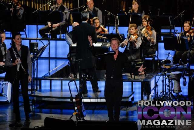 Sting w Royal Philharmonic Orchestra © JB Brookman Hollywood Icon Magazine-2 copy