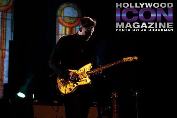 Katy Perry's new boyfriend- Florence + The Machine guitar player, Robert Ackroyd. Photo: JB Brookman