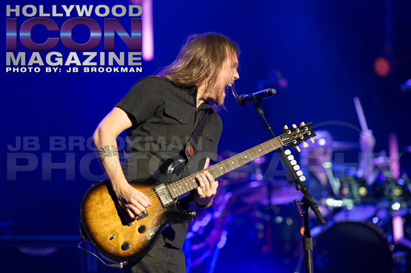 Creed guitar player Brian Marshall.  Photo: JB Brookman