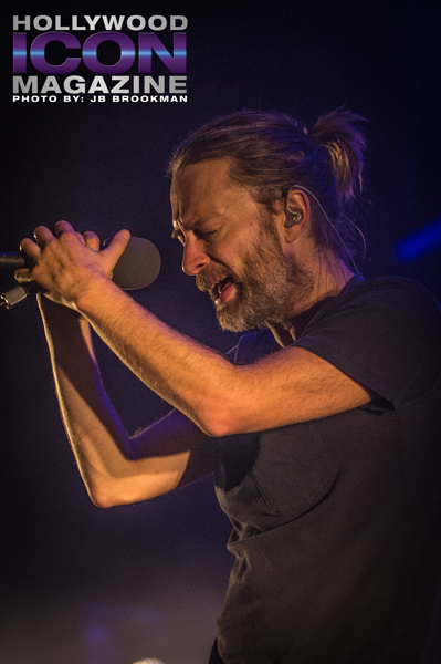 Thom Yorke  from Atoms For Peace rock the Santa Barbara Bowl.  Photo: JB Brookman