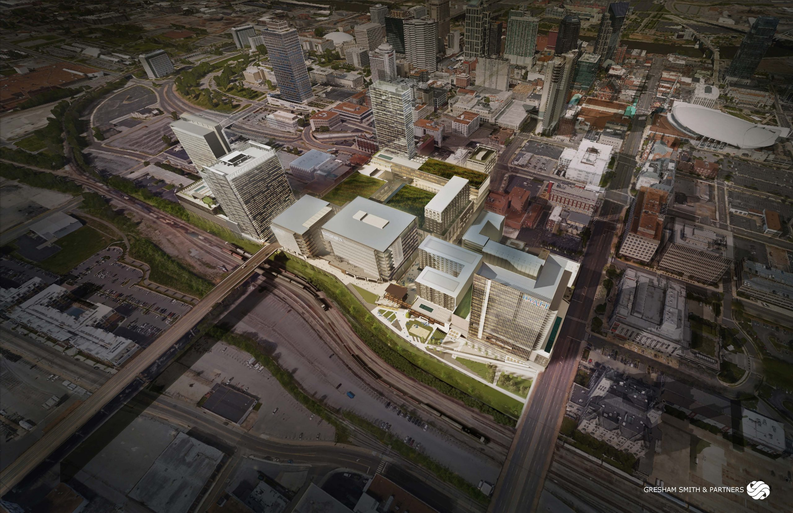 New Music Venue and Entertainment District at Nashville Yards To Be Built With AEG