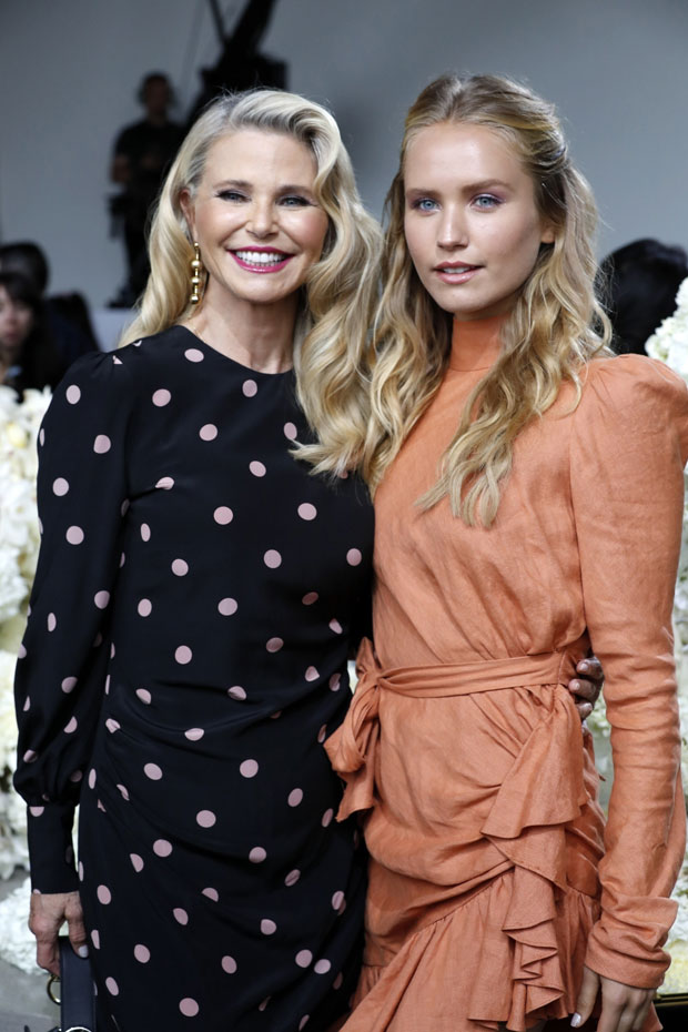 Christy Brinkley and Sailor Brinkley-Cook