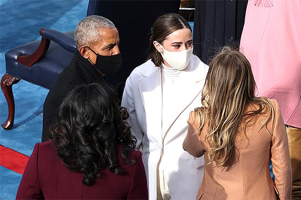 Barack Obama, Michelle Obama, Naomi Biden