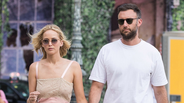 Jennifer Lawrence & Husband Cooke Maroney Pictured For The 1st Time In 6 Months — See Photos