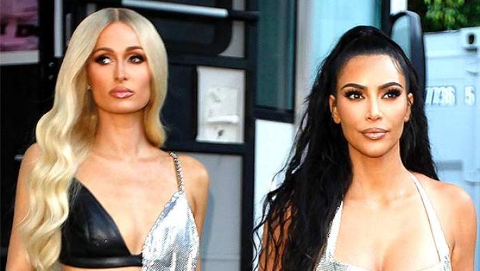 Kim Kardashian Reunites With Paris Hilton For Gorgeous Photoshoot In New 'KUWTK' Teaser