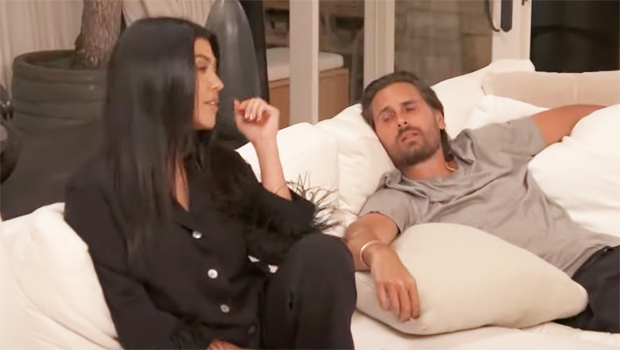 Kourtney Kardashian & Scott Disick Spend A Night 'Alone' Together After His Sofia Breakup