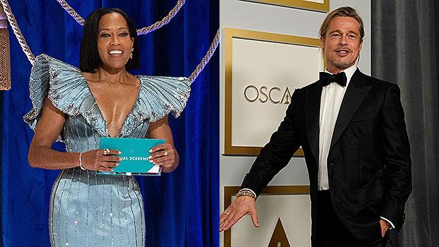 Oscars 2021 Best Moments: Regina King's Epic Save, Brad Pitt's Sexy Ponytail & More