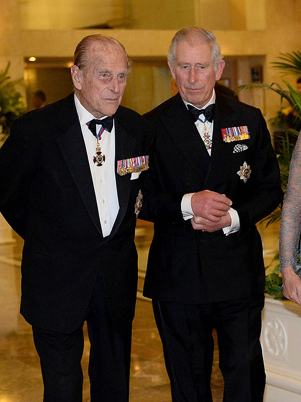 Prince Philip & Prince Charles