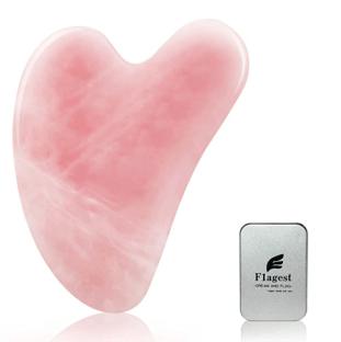 rose quartz gua sha