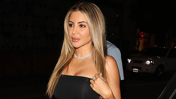 Larsa Pippen Rocks A Fitted Black Tank Top As She Declares She's 'Blessed' Posing With $200K Ferrari