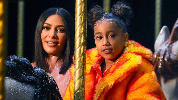 North West, 7, Expertly Creates A Fake Scar On Her Face With Special Effects Makeup — Pic