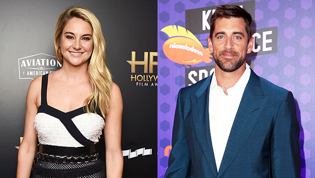 Shailene Woodley Snuggles Up To Aaron Rodgers & Calls Him 'My Love' In Rare Video At Home — Watch