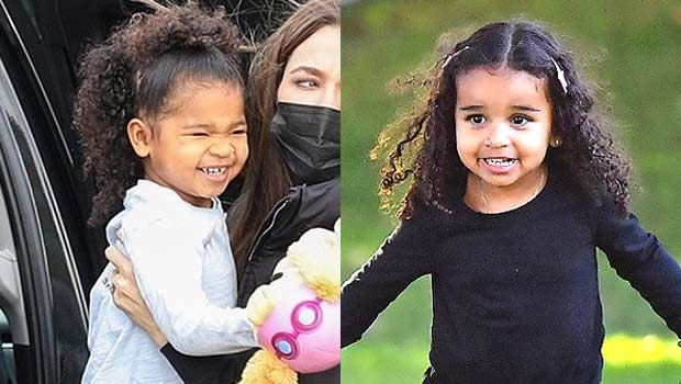 True Thompson, 3, & Dream Kardashian, 4, Rock Matching Leotards & Hug In Adorable Photos