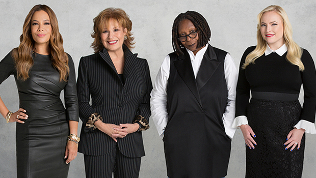 Sunny Hostin, Joy Behar, Whoopi Goldberg, Meghan McCain