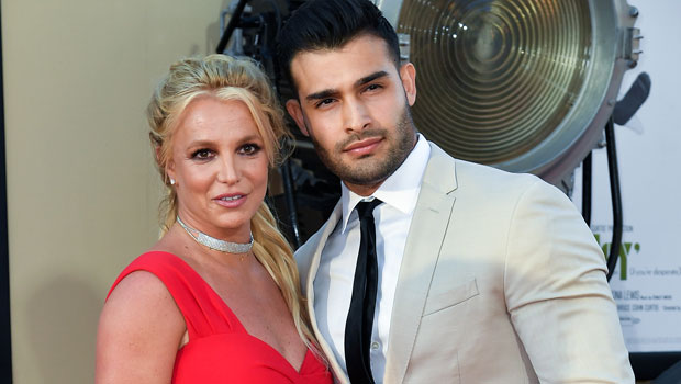 Sam Asghari Jokes That He &Amp; Britney Spears Have Been Secretly 'Married For Five Years' — Watch