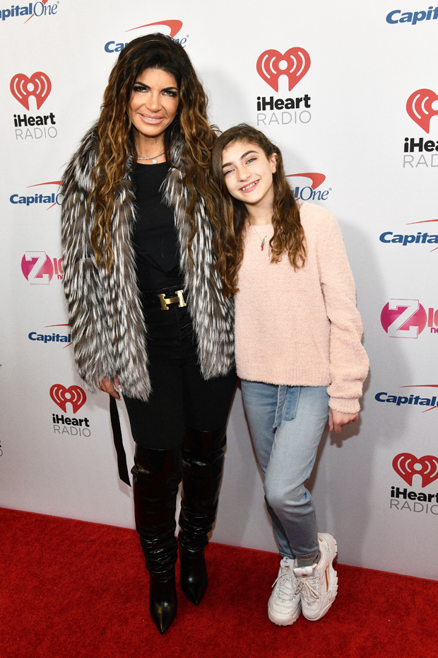 Teresa Giudice with daughter Audriana