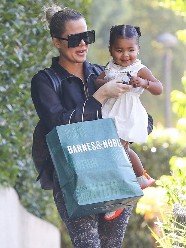 Khloe Kardashian & daughter True