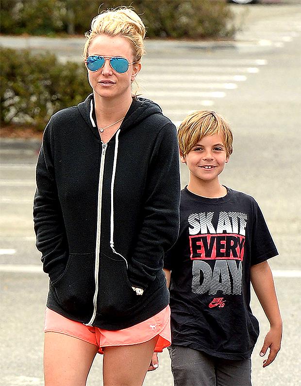 Britney Spears & son Sean