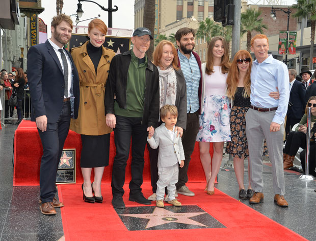 ron howard and his kids