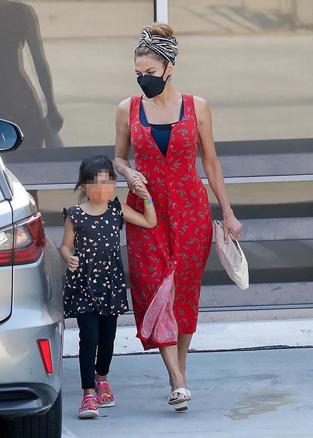 Eva Mendes & daughter Amada