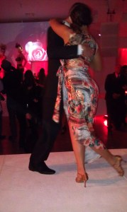 Tango in Los Angeles...Talented tango dancers on the catwalk. Photo courtesy of HPC