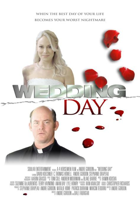 Wedding Day Poster courtesy of 4Horsemen Films