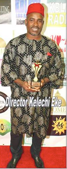 Award-winning filmmaker Kelechi Eke
