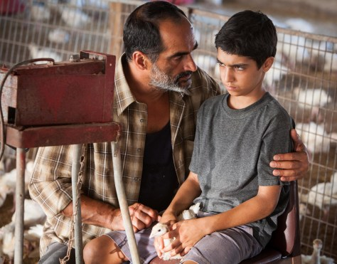 Still of Baba Joon with actors Navid Negahban and Asher Avrahami