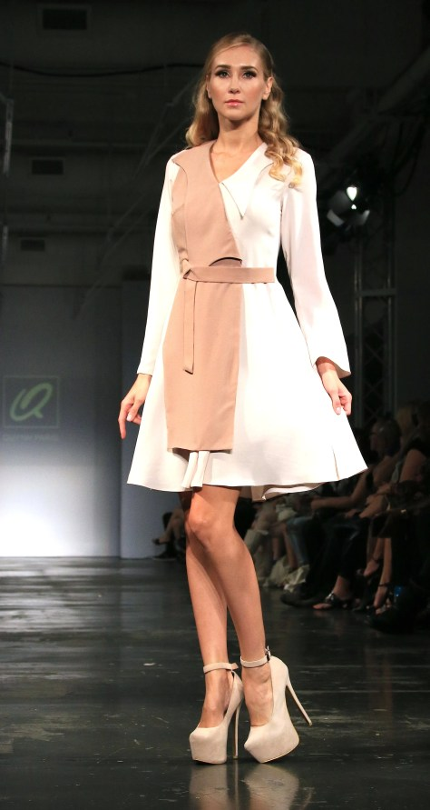 A beautiful dress from Quynh's ready-to-wear line